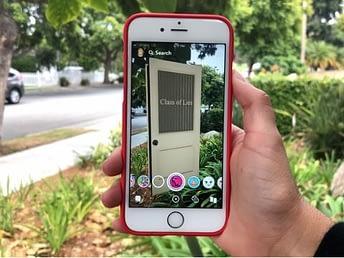 Snapchat-AR-app