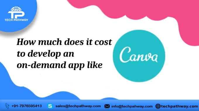 How much does it cost to develop an on-demand app like Canva