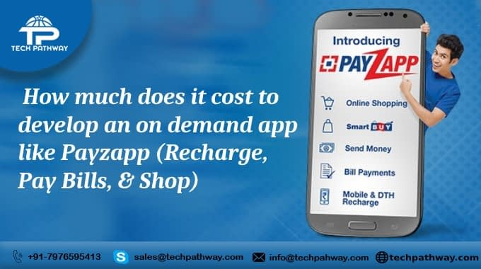 How much does it cost to develop an on-demand app like Payzapp