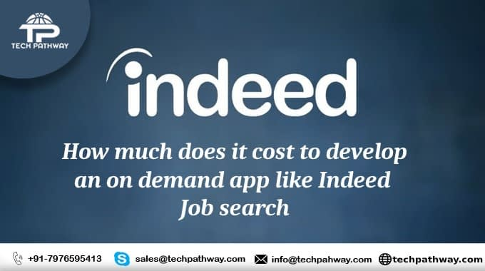 How much does it cost to develop an on-demand app like Indeed Job Search