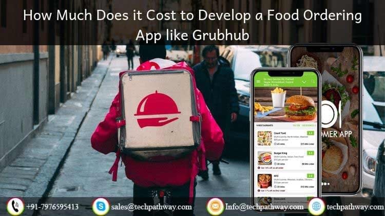 How Much Does it Cost to Develop a Food Ordering App like Grubhub